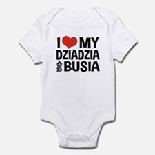 Dziadzia and Busia Infant Bodysuit