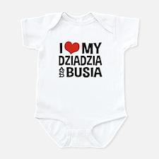 Dziadzia and Busia Onesie