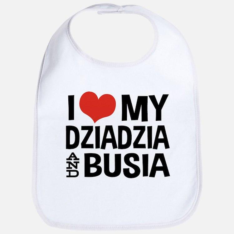 Dziadzia and Busia Bib