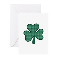 Three Leaf Clover Greeting Cards