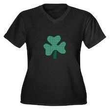 Three Leaf Clover Plus Size T-Shirt