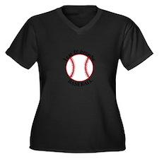 I Eat & Breathe Baseball Plus Size T-Shirt