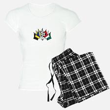 7 Racing Flags Pajamas