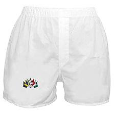 7 Racing Flags Boxer Shorts