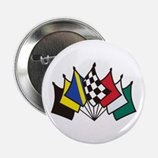 "7 Racing Flags 2.25"" Button (10 pack)"