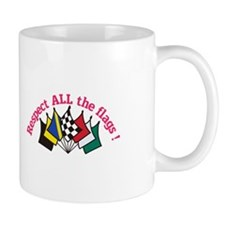 Respect All the Flags Mugs