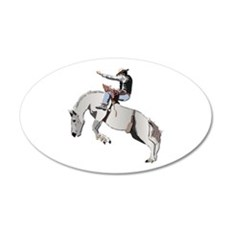 Bronc Rider Wall Decal