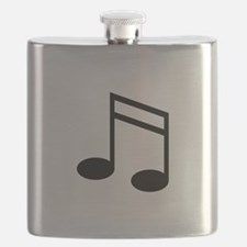 Beamed 16th Notes Flask