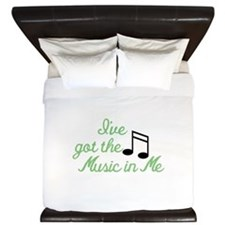 Ive Got the Music In Me King Duvet