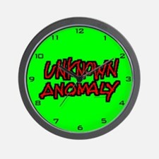 UNKNOWN ANOMALY  Wall Clock