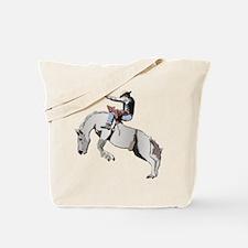 Bronc Rider Tote Bag