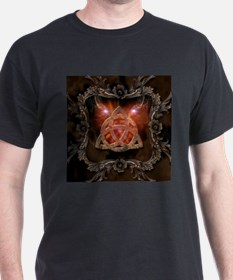 Celtic knot and floral elements T-Shirt