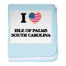 I love Isle Of Palms South Carolina baby blanket