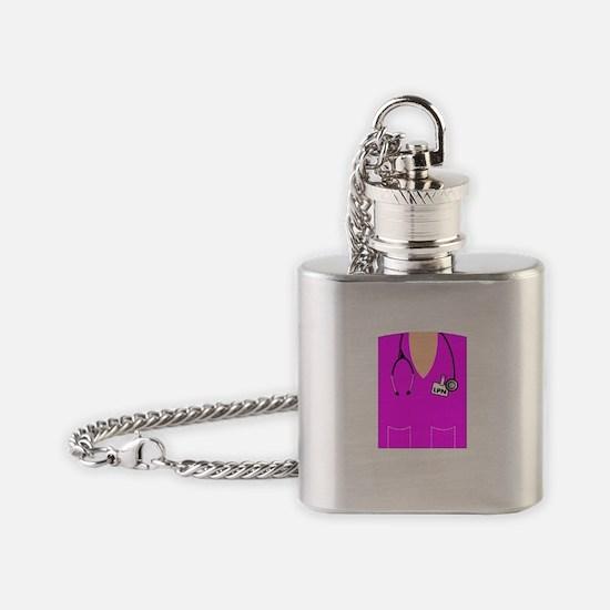 Cute National nurses week Flask Necklace