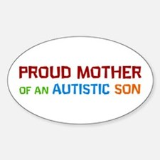 Proud Mother Of An Autistic Son Decal