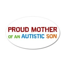 Proud Mother Of An Autistic Son Wall Decal