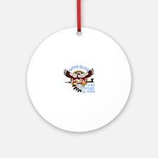 Native Blood Ornament (Round)