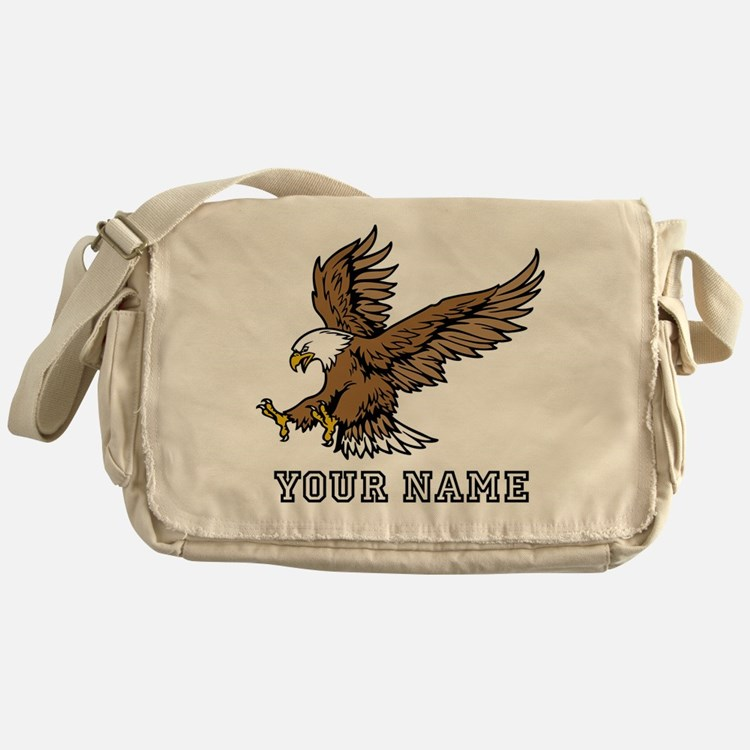 Bald Eagle (Custom) Messenger Bag