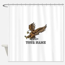 Bald Eagle (Custom) Shower Curtain