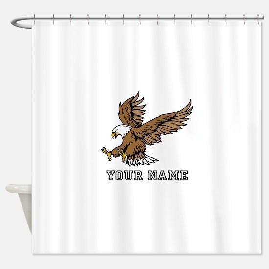 Bald Eagle (Custom) Shower Curtain