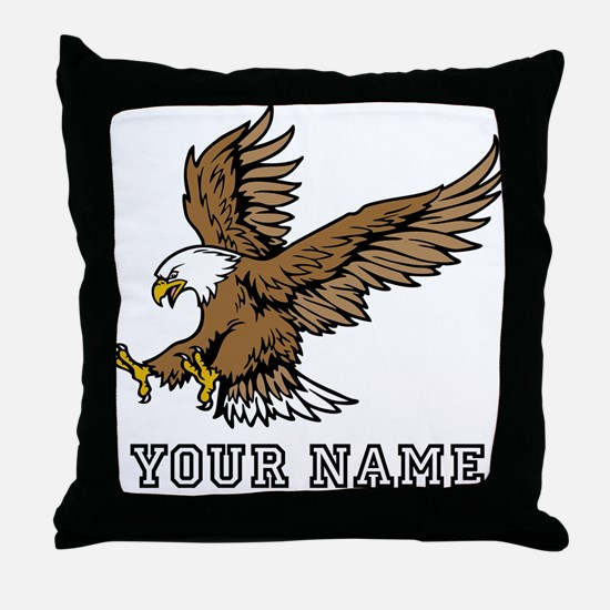Bald Eagle (Custom) Throw Pillow