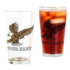 Bald Eagle (Custom) Drinking Glass