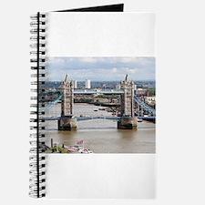 Tower Bridge, Thames River, London, Englan Journal