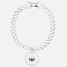 Three Handbells Bracelet