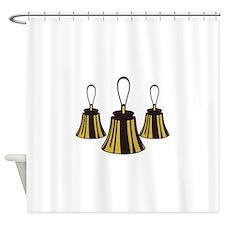 Three Handbells Shower Curtain