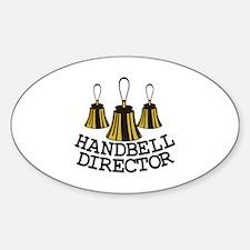 Handbell Director Decal