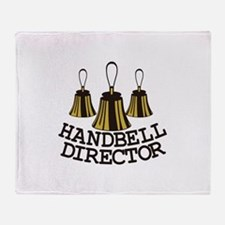 Handbell Director Throw Blanket