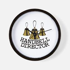 Handbell Director Wall Clock
