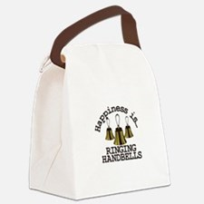 Happiness is Ringing Canvas Lunch Bag