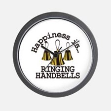 Happiness is Ringing Wall Clock