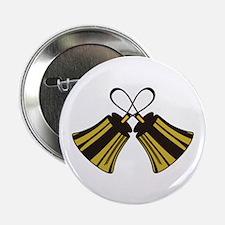 "Crossed Handbells 2.25"" Button (10 pack)"