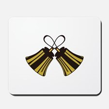 Crossed Handbells Mousepad