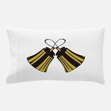 Crossed Handbells Pillow Case