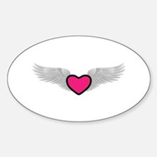 Winged Heart Decal