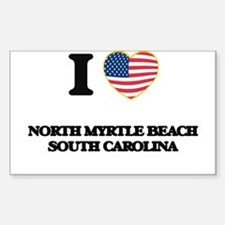 I love North Myrtle Beach South Carolina Decal