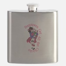 All the Chicks Flask