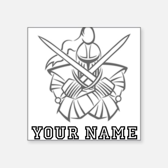Medieval Knight (Custom) Sticker
