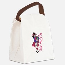 Blow Me Canvas Lunch Bag