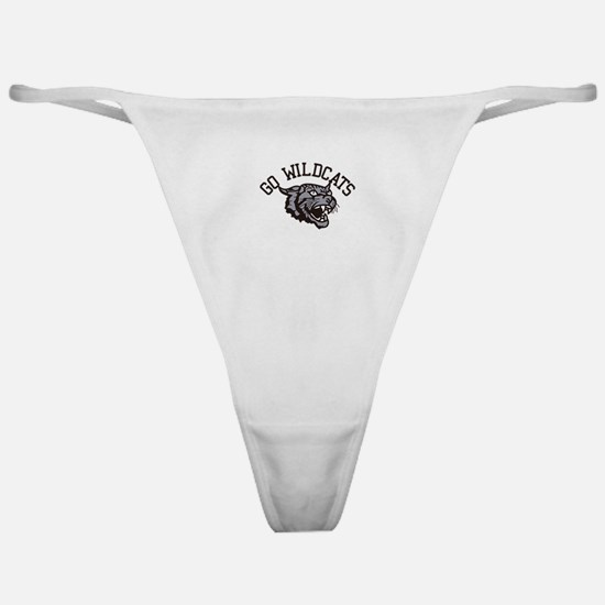 GO WILDCATS Classic Thong