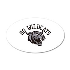 GO WILDCATS Wall Decal