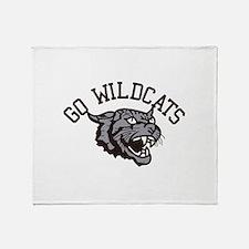 GO WILDCATS Throw Blanket