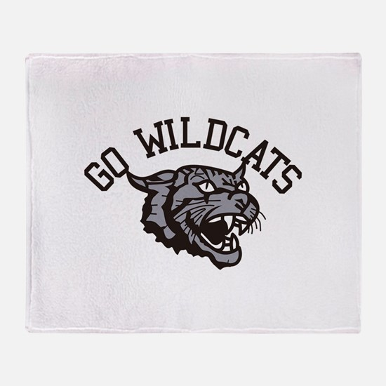 GO WILDCATS Throw Blanket
