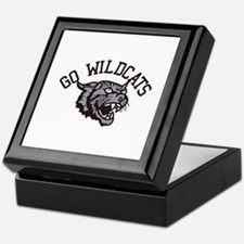 GO WILDCATS Keepsake Box