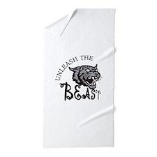 Unleash the Beast Beach Towel
