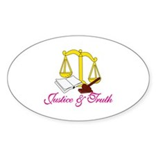 Justice & Truth Decal