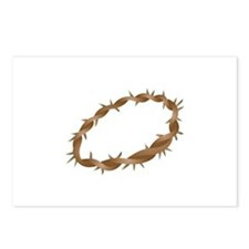 Crown of Thorns Postcards (Package of 8)